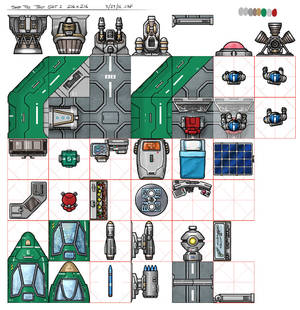 NTC Spacecraft Tileset