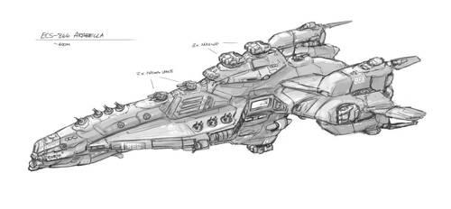 Outsider: Terran Cruiser 2202