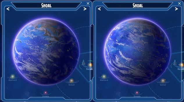Stars in Shadow: Shoal, the Gardeners Homeworld