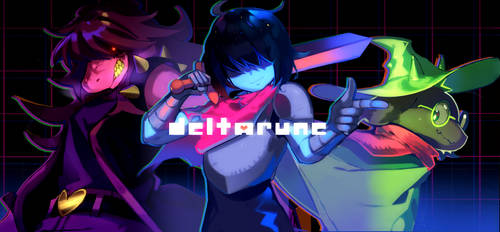 Deltarune banner by drag0nia