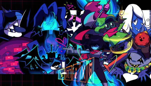 Deltarune: Welcome to the Dark World!