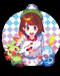 Fanart: Pokemon Sword and Shield Starters