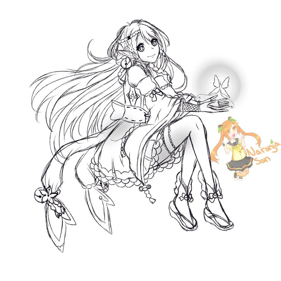 Sketch Archer by OrenjiPyon