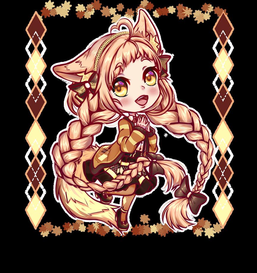 Fennec Fox(? - Chibi by OrenjiPyon
