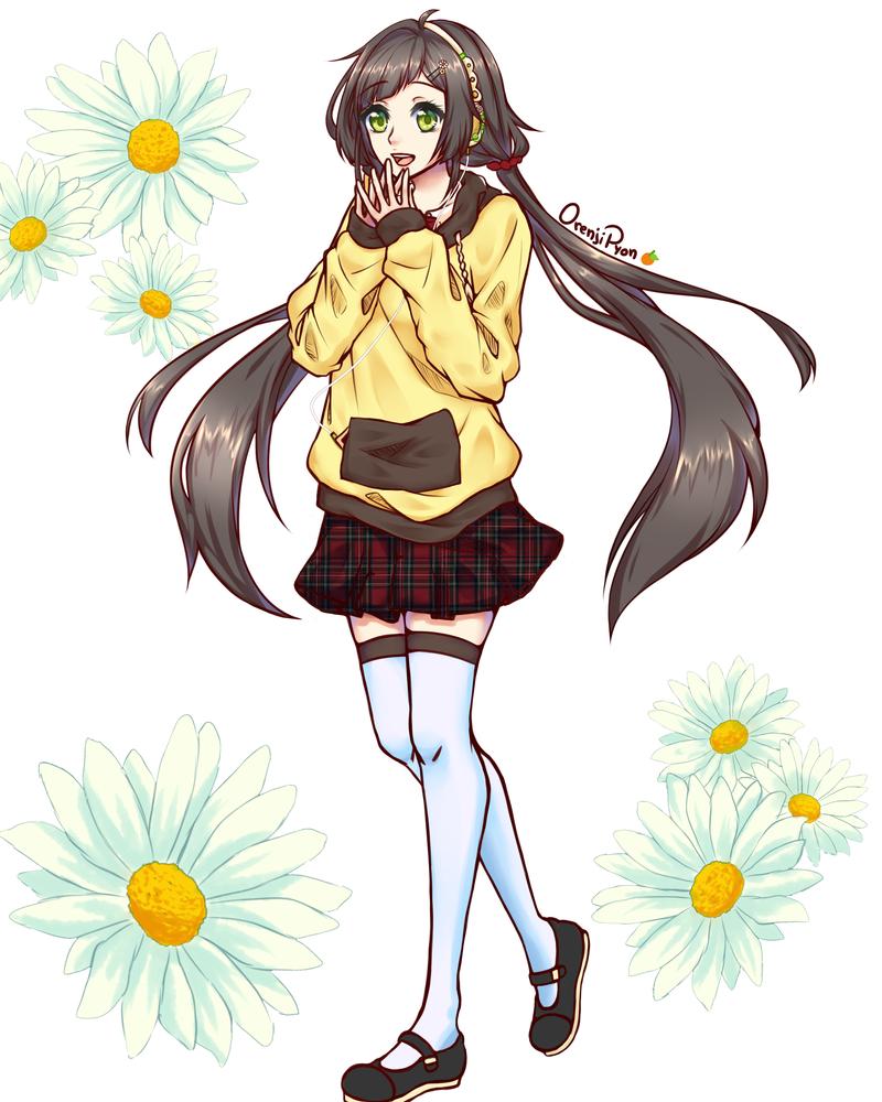 School Uniform - Lily by OrenjiPyon