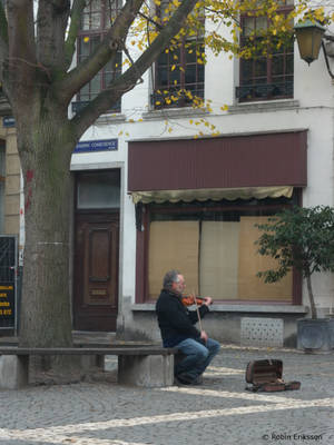 Violinist by cleriksson