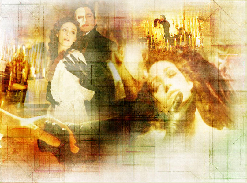 Phantom of The Opera _Blend_ by Synth3tique