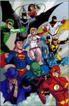 Justice League color