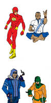 The Flash- redesigns
