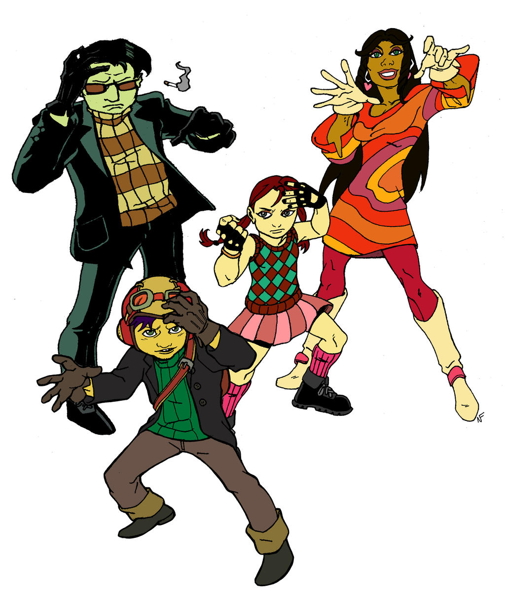 Psychonauts by CrimeRoyale