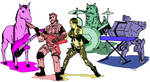 Snake and the Buddies- colors