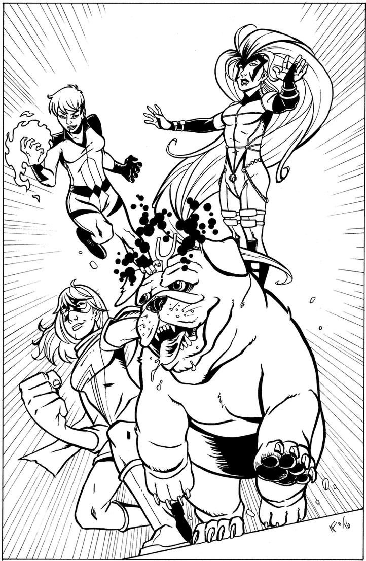 Inhumans by CrimeRoyale