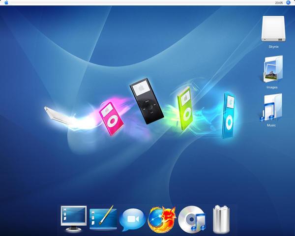 Desktop Apple by Skynix