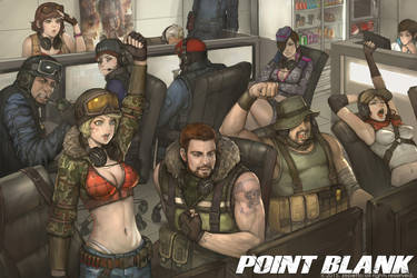 POINTBLANK 2015 poster by no31206