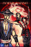 Kung Lao and Baraka