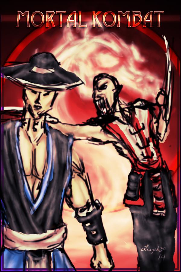Kung Lao and Baraka
