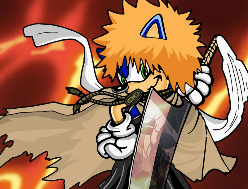 Sonic Crossovers: BLEACH 5 by BLaKcatINK
