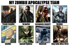 Zombie Apocalypse Team by BLaKcatINK