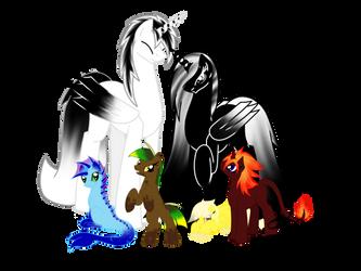 Family Portrait by Dark-X-Light