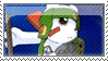 Chakmon Stamp by SpadaStamps