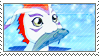 Gomamon Stamp by SpadaStamps
