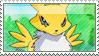 Renamon Stamp by SpadaStamps