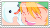 Takeru and Poyomon Stamp by SpadaStamps