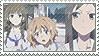 Hanasaku Iroha Stamp by SpadaStamps