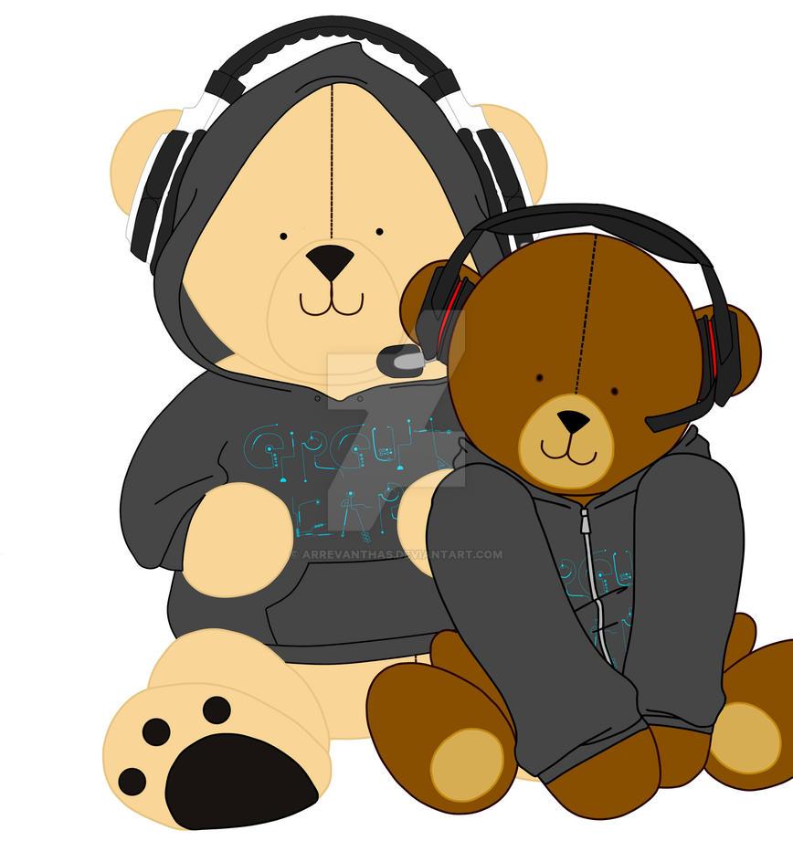 Circuit Bear has a friend!! by Arrevanthas