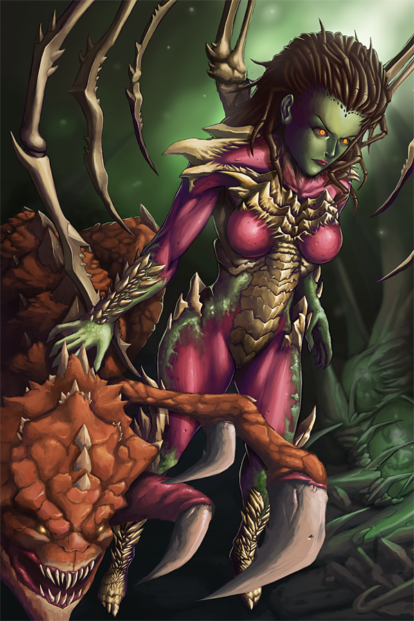 StarCraft - Queen of Blades by GenghisKwan