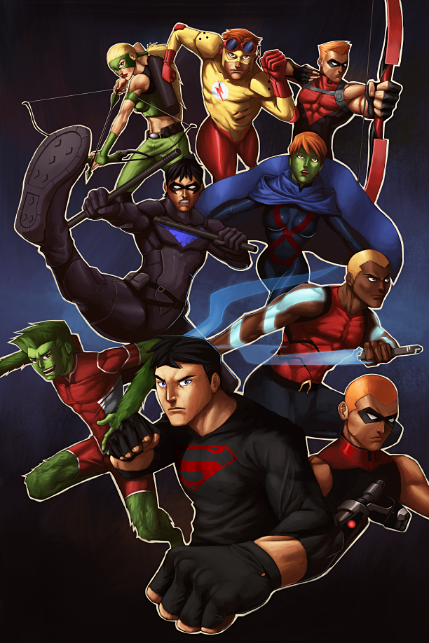 Young Justice by GenghisKwan