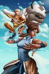 Avatars - Aang and Korra