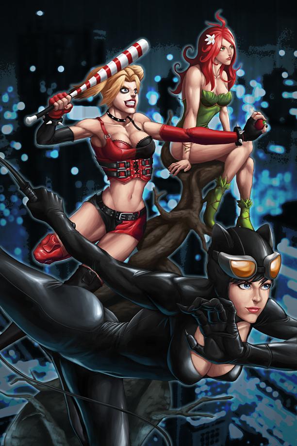 Gotham Sirens by GenghisKwan