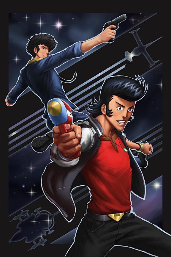 Spike And Dandy by GenghisKwan