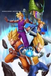 Dragon Ball Series 4 Fan Art by GenghisKwan
