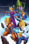 Dragon Ball Series 4 Fan Art