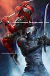 Snake Eyes vs Deadpool!