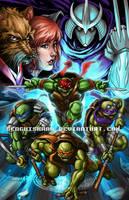 Teenage Mutant Ninja Turtles by GenghisKwan