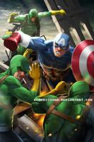 Captain America by GenghisKwan