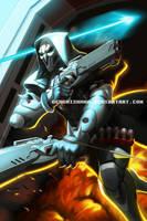 Overwatch - Reaper by GenghisKwan