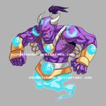 Djinn Commission. Character Starting $85