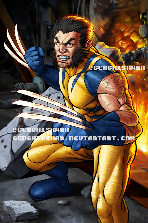Wolverine is back! by GenghisKwan