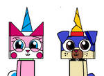 Unikitty and Puppycorn