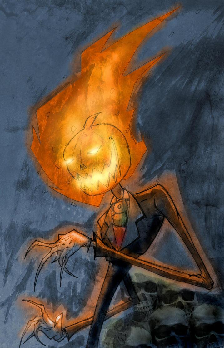 jack o lantern is back by agentfox