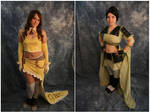 Gun Mage Jane and Samurai Mulan Collage Preview by Ever-smiling