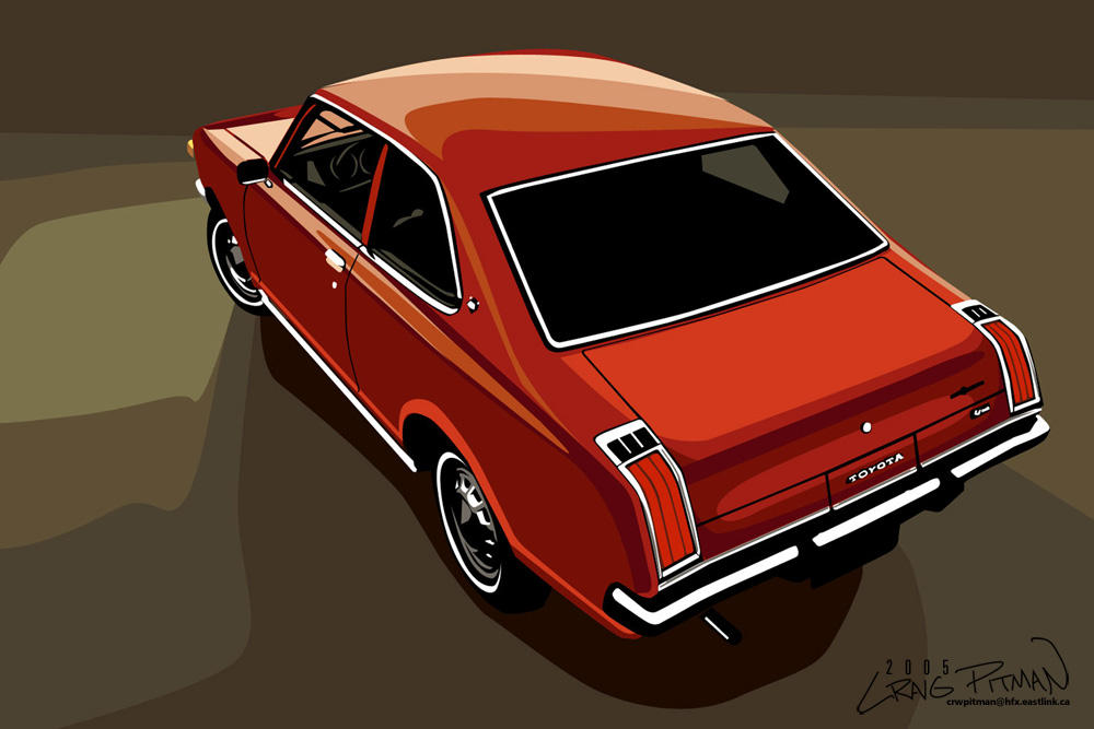 1972 Toyota Carina Ta10 By Crwpitman On Deviantart