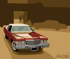 1970's Cadillac by CRWPitman
