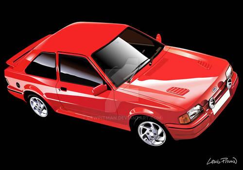 1986 Ford Escort MKIV RS Turbo