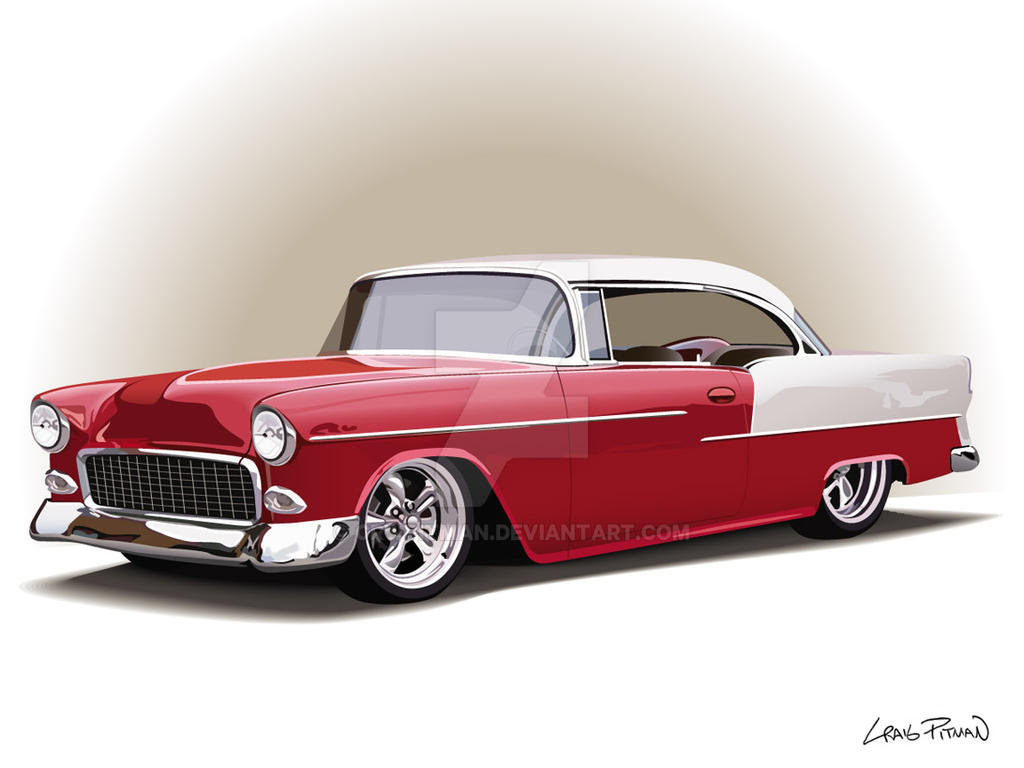 '55 Chevy Vector by CRWPitman