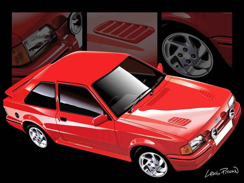 1986 ford escort mkiv rs turbo by crwpitman on deviantart. Black Bedroom Furniture Sets. Home Design Ideas